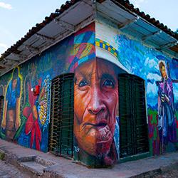 Honduras Cantarranas Pueblo Selfie