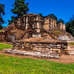 Guatemala Iximche un sitio arqueológico maya